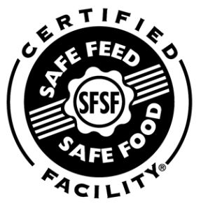Certified Safe Feed Safe Food Seal
